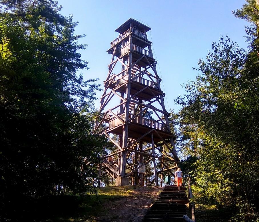 Wieża widokowa, Przemęcki Park Krajobrazowy