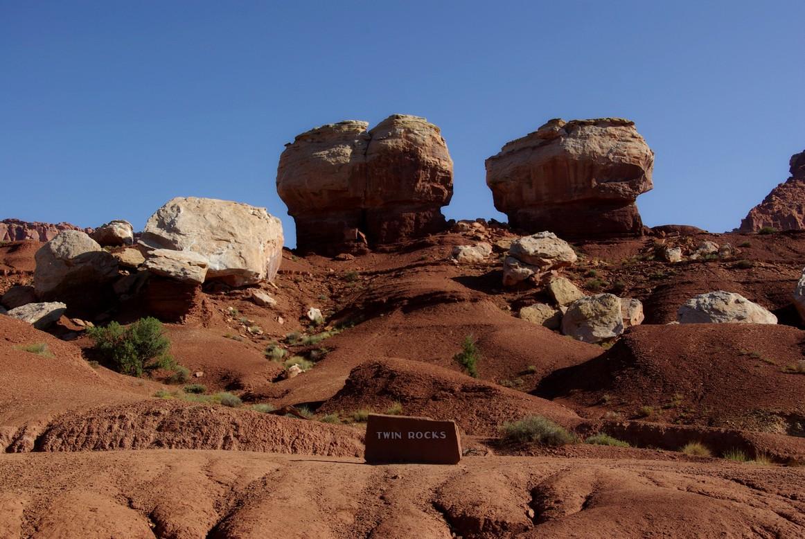 Twin Rocks, Park Narodowy Capitol Reef