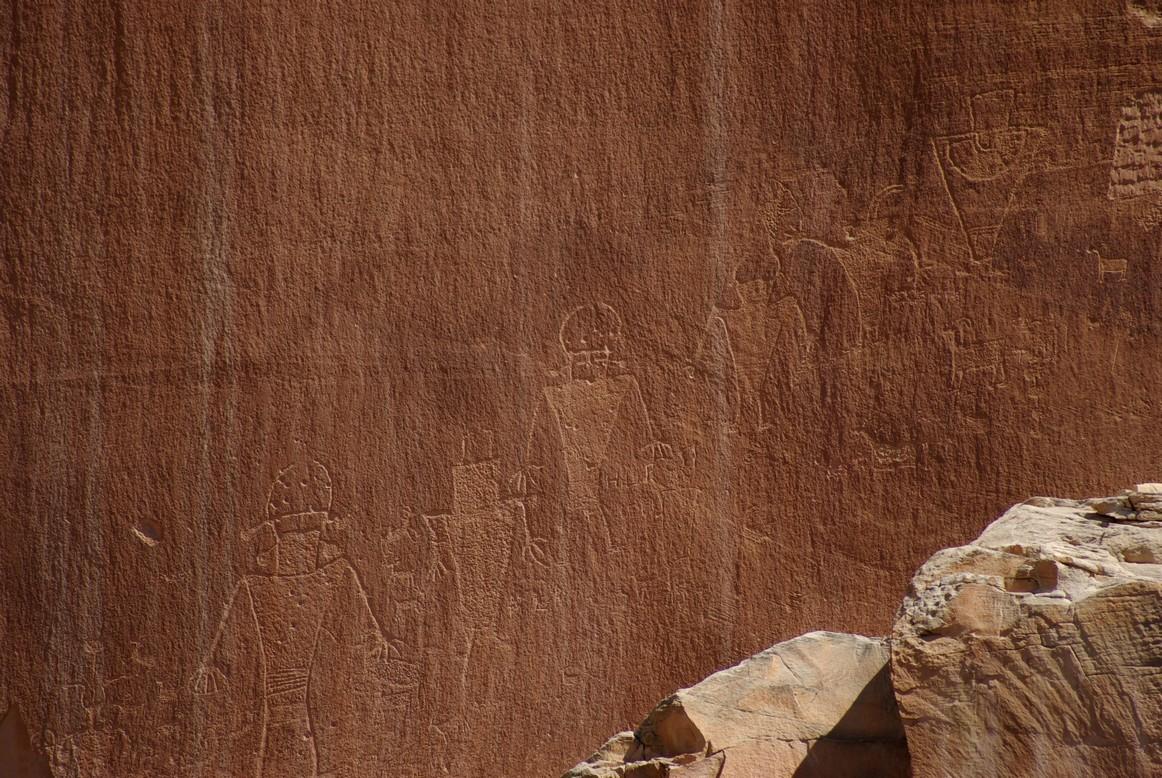 Petroglify, Park Narodowy Capitol Reef