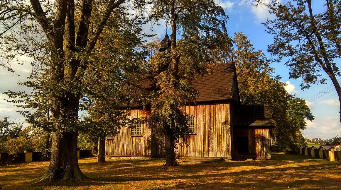 Drewniany kościół parafialny, Tum koło Łęczycy