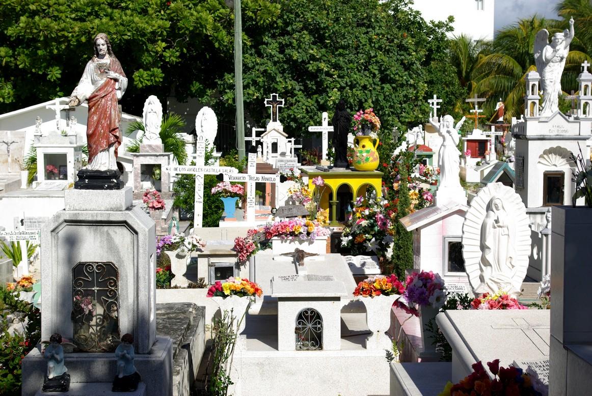 Cmentarz na Isla Mujeres, Meksyk