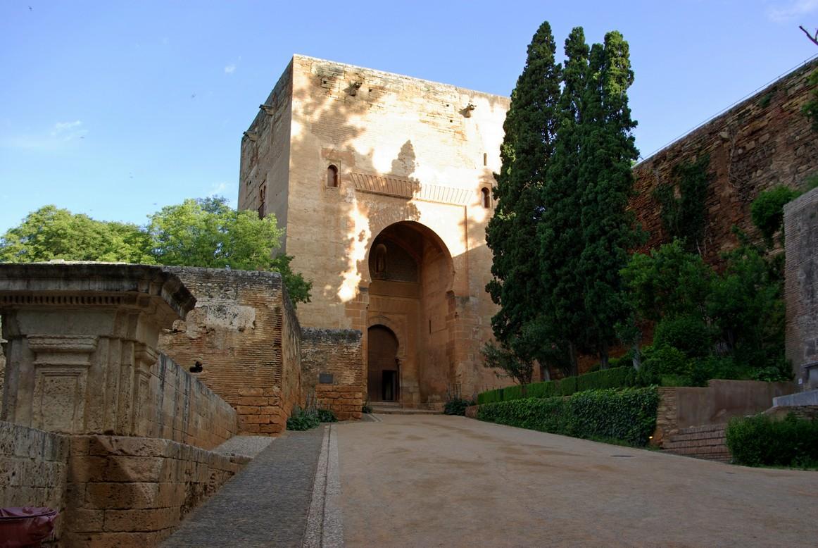 Wejście do pałacu, Alhambra, Granada