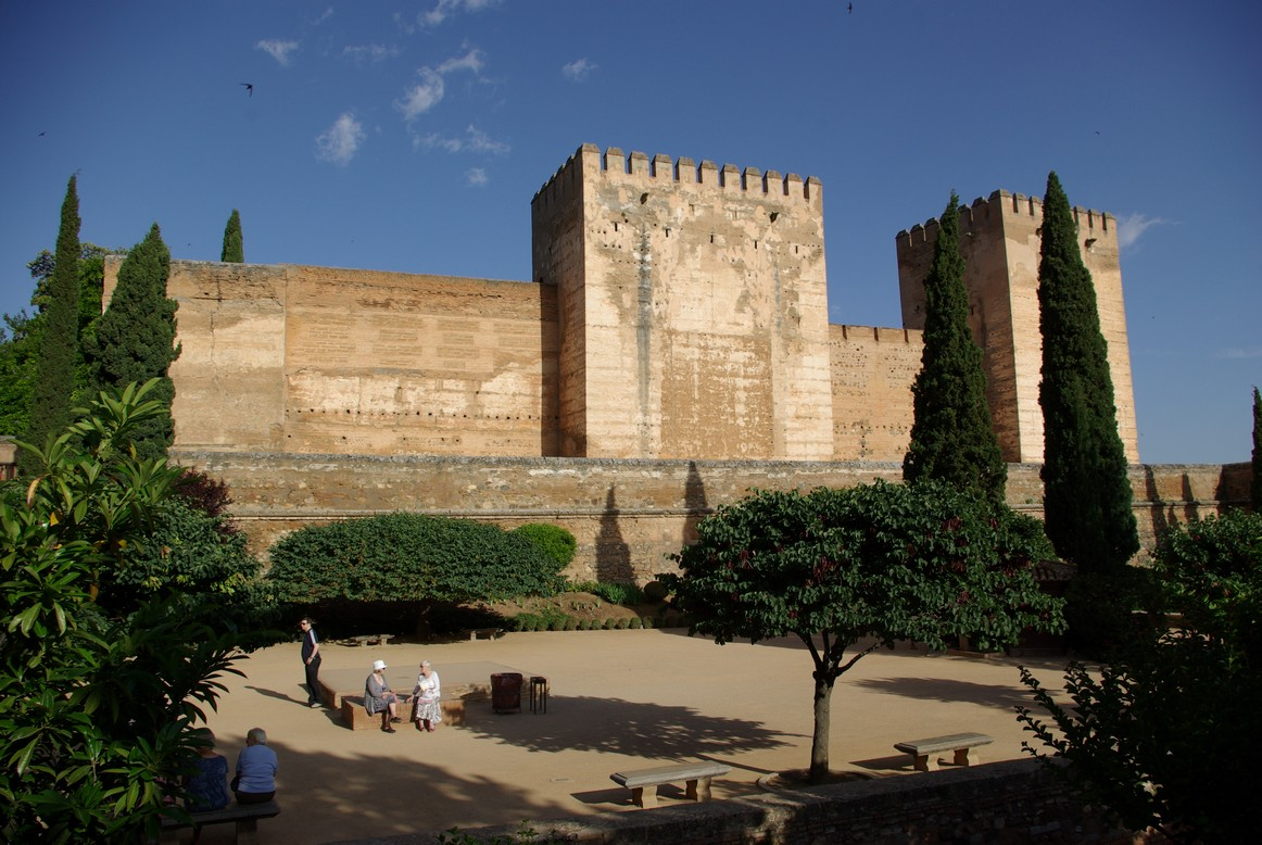 Twierdza Alcazaba, Alhambra, Granada