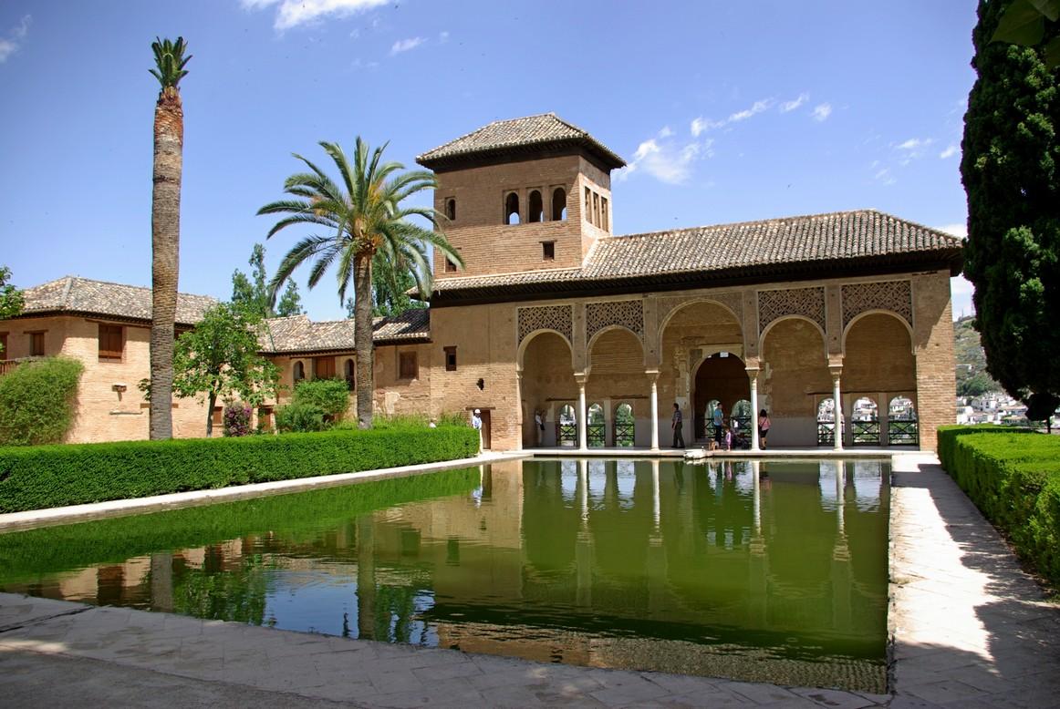 Ogrody pałacowe, Alhambra, Granada