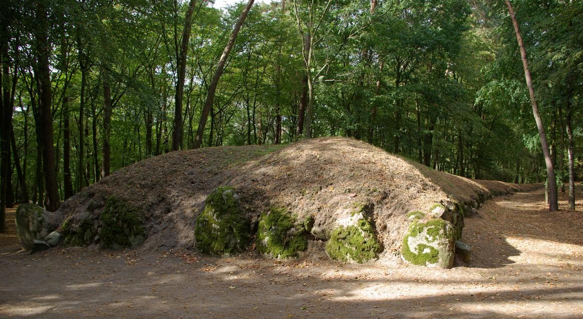 Czoło grobowca, Park Kulturowy Wietrzychowice