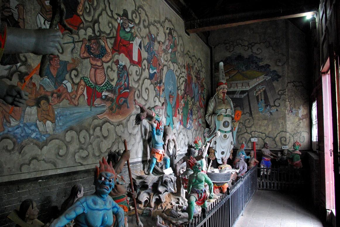 Rzeźby w świątynii, Pingyao