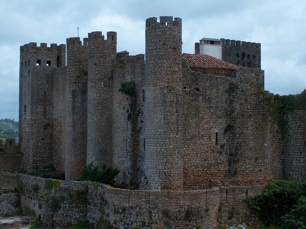 Zamek, Obidos, Portugalia