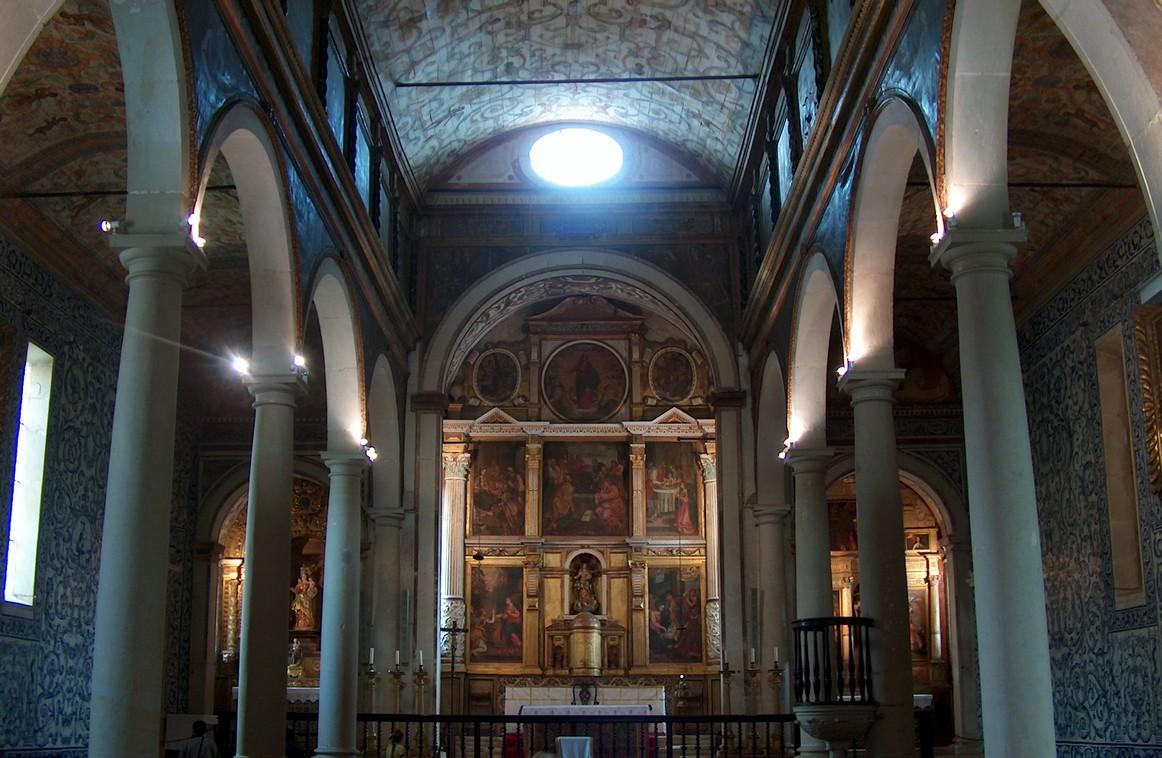Igreja de Santa Maria, Obidos, Portugalia