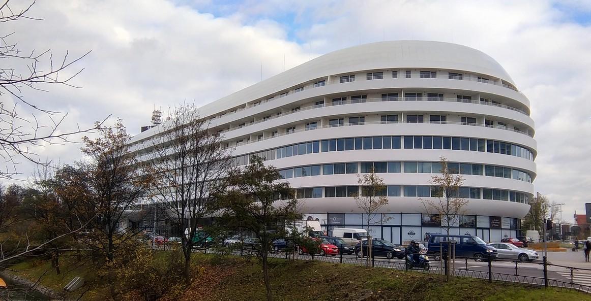 Budynek hotelu Hilton