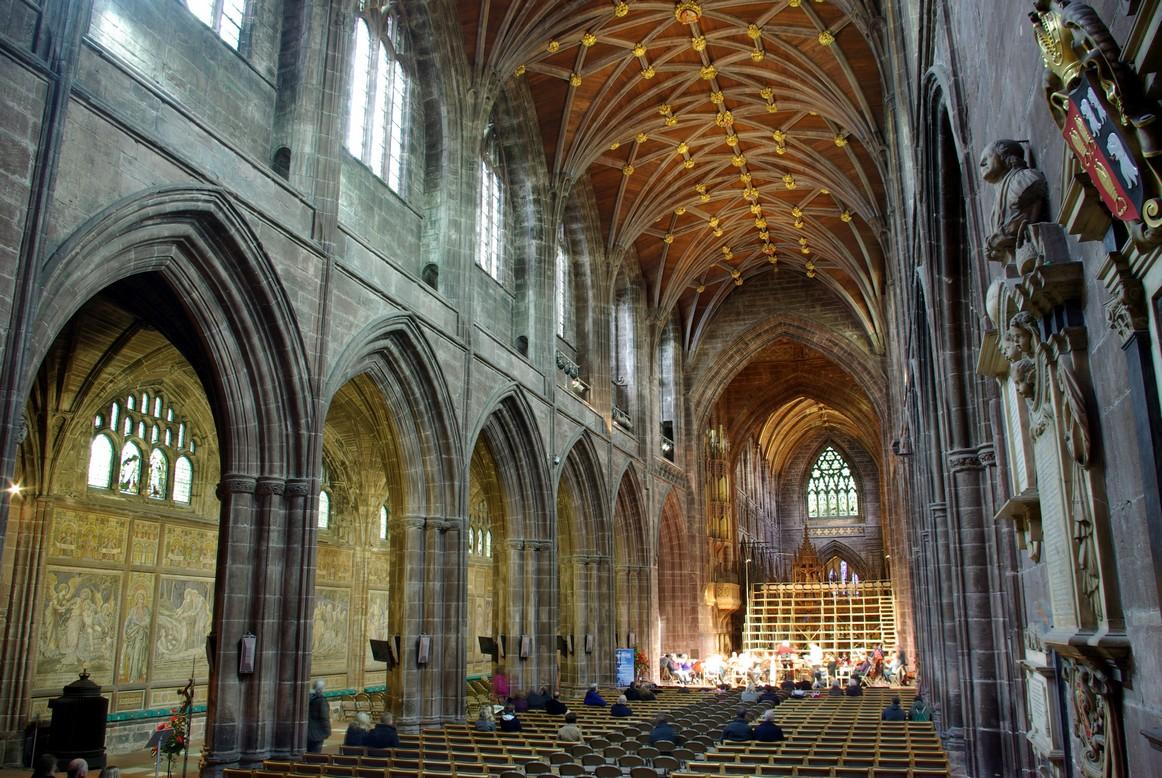 Nawa główna, katedra w Chester