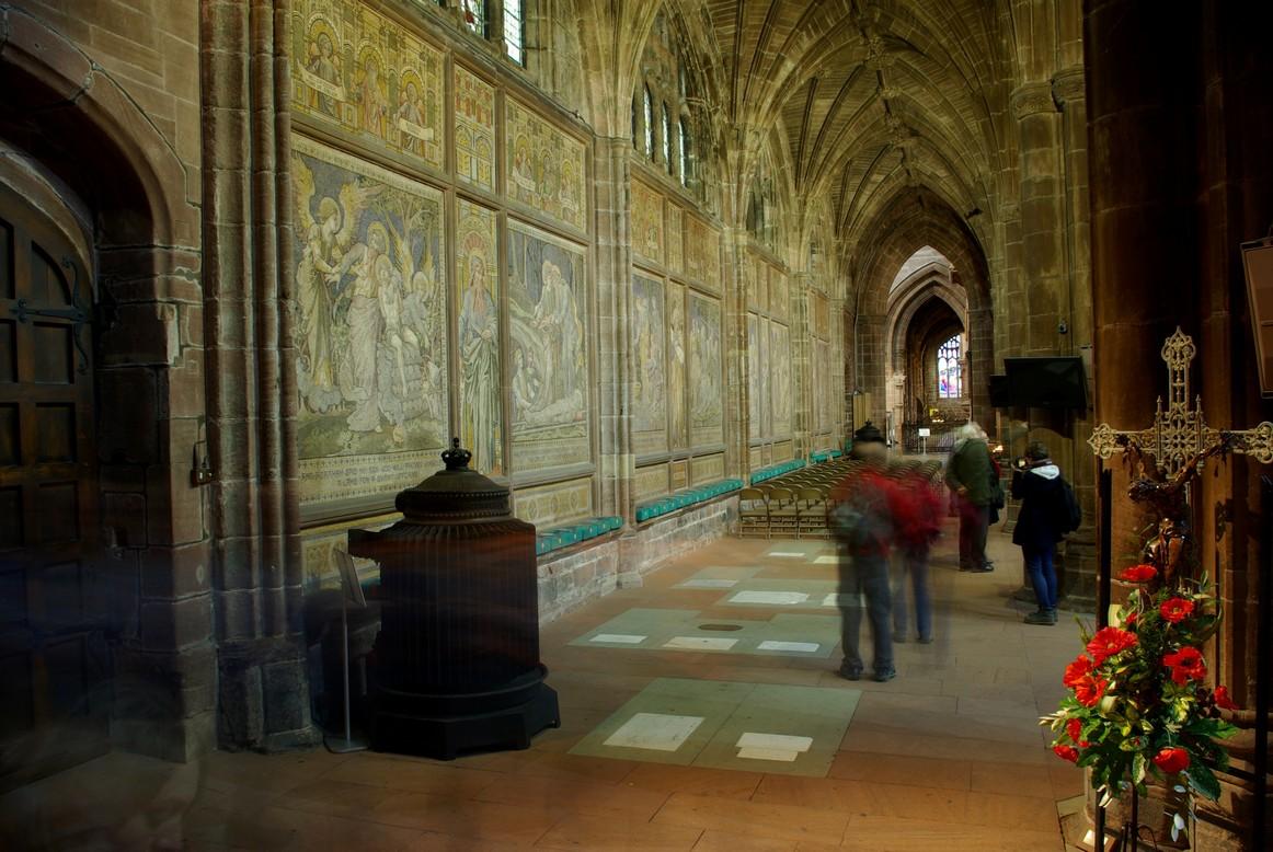 Nawa boczna, katedra w Chester