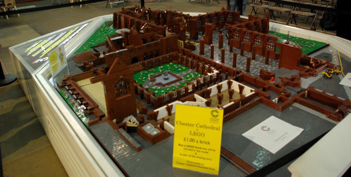 Katedra z klocków Lego, katedra w Chester