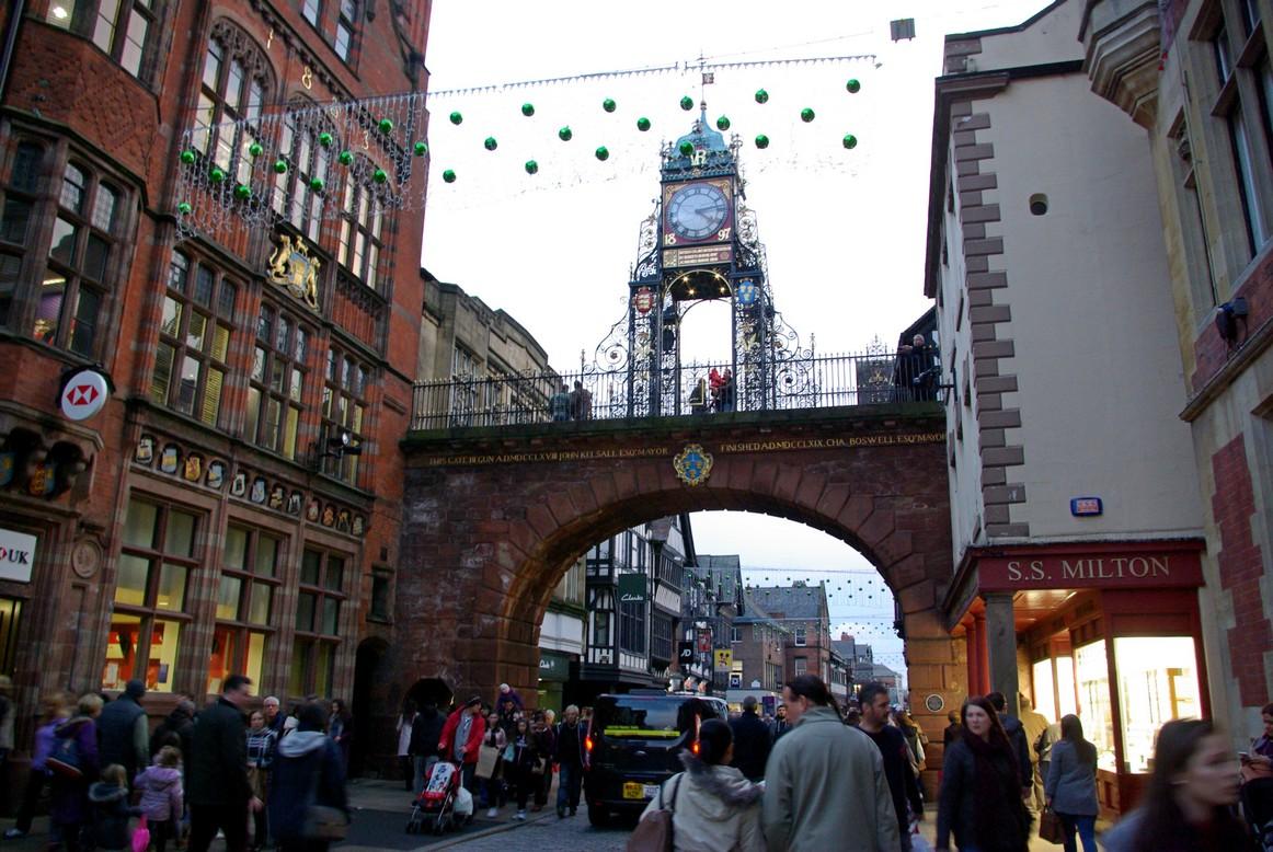 Wieża zegarowa, Chester