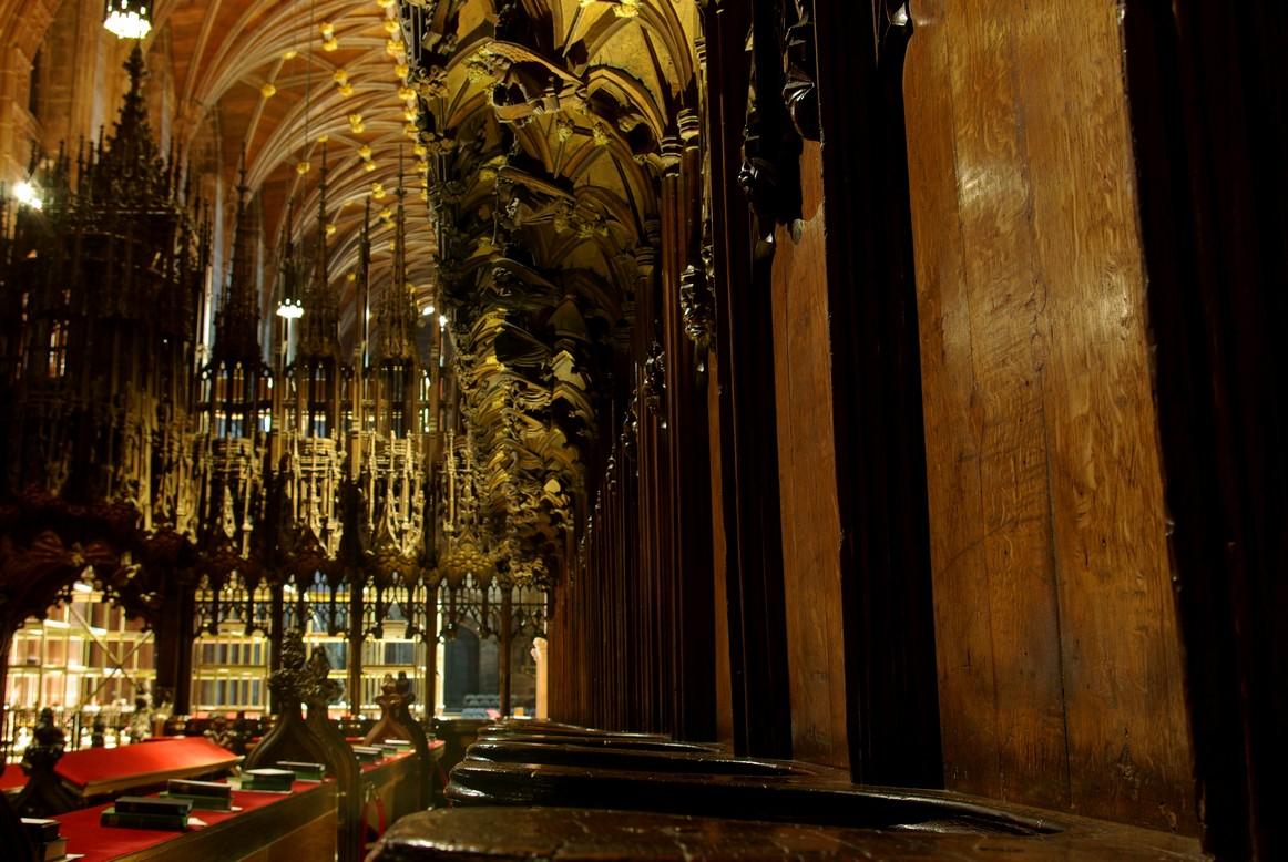 Stalle, katedra w Chester