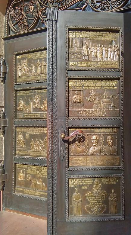 Drzwi wejściowe do kościoła, Jarosław