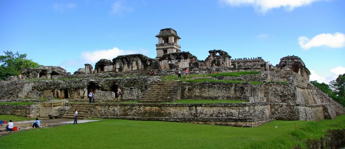 Pałac, Palenque, Meksyk