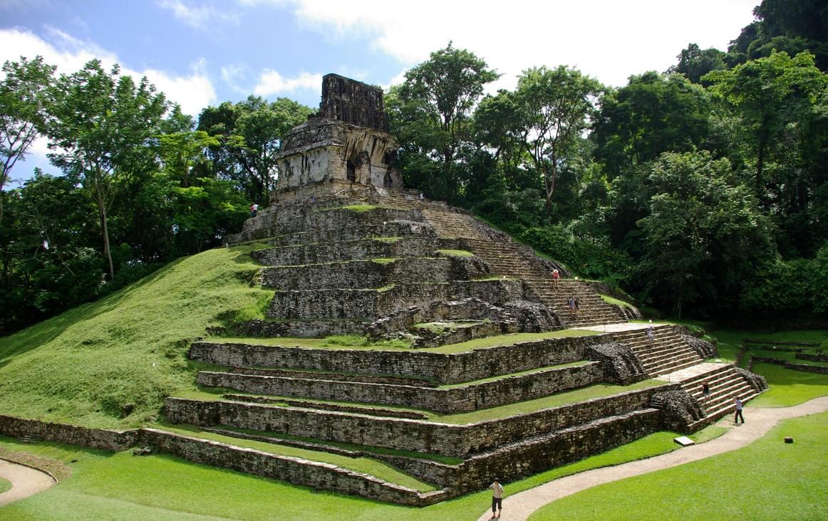 Templo de la Cruz, Palenque, Meksyk