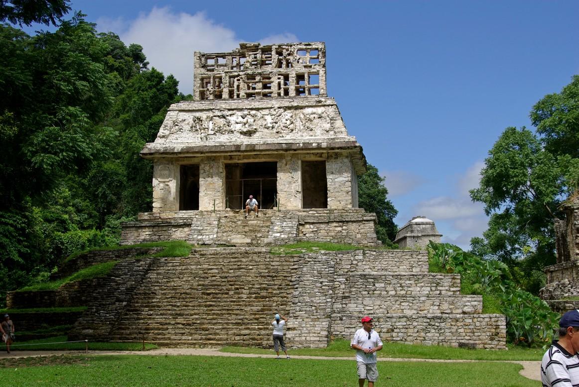 Templo del Sol, Palenque, Meksyk