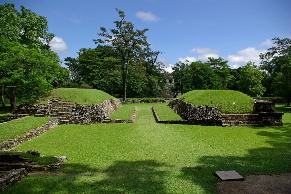 Boisko do gry w pelotę, Palenque, Meksyk