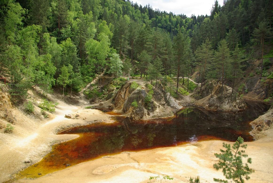 Kolorowe jeziorka, Rudawski Park Krajobrazowy