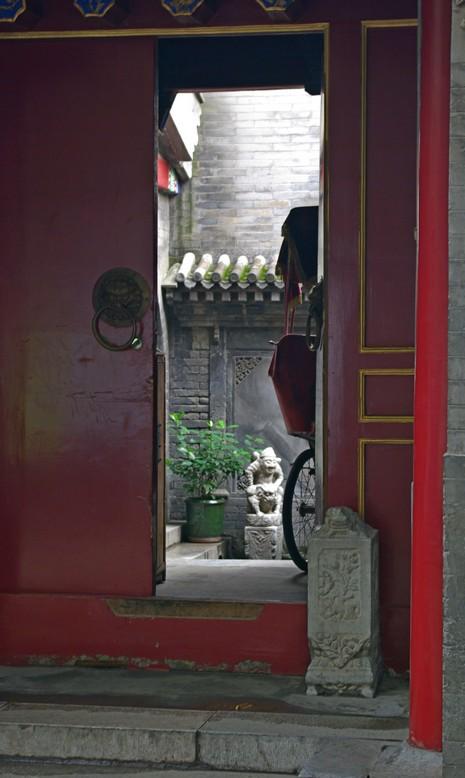 Wejście do hutongu, Pekin