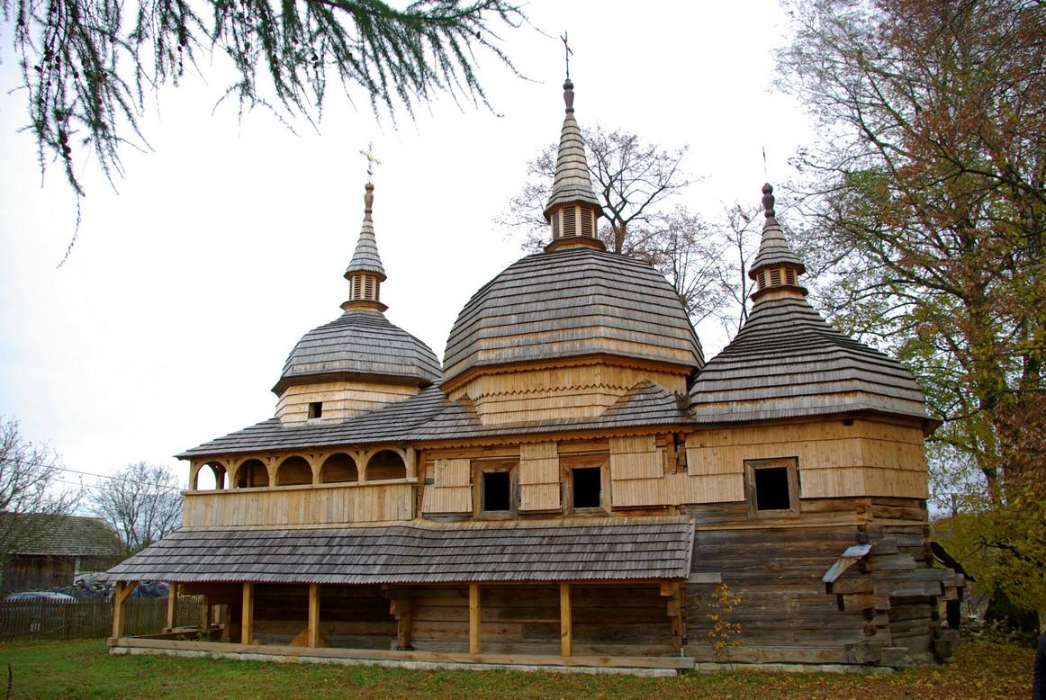 Nowe Brusno, cerkiew w odbudowie