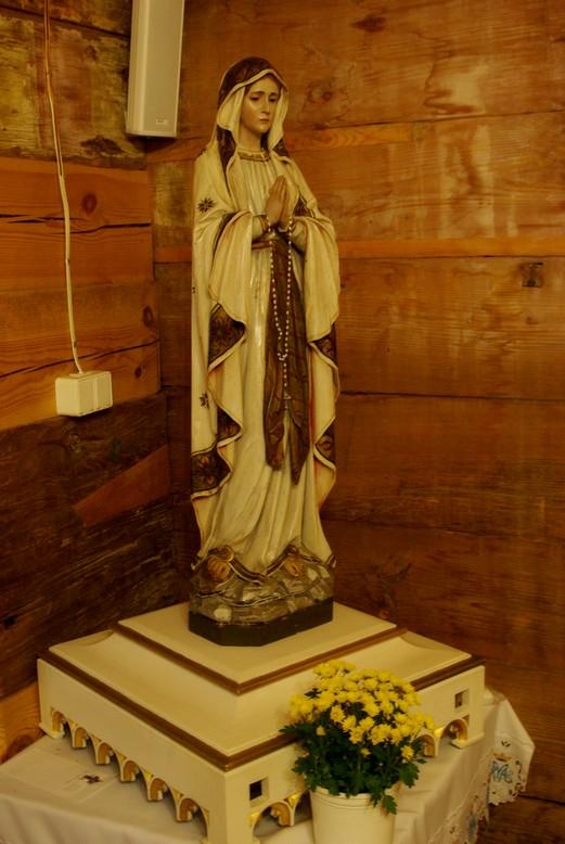 Gorajec, cudowna figura Matki Boskiej