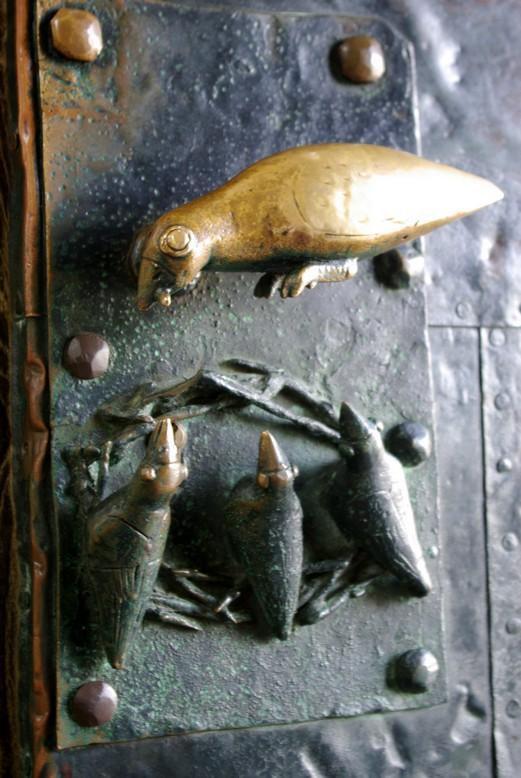 Klamka drzwi wejściowych do katedry, Magdeburg