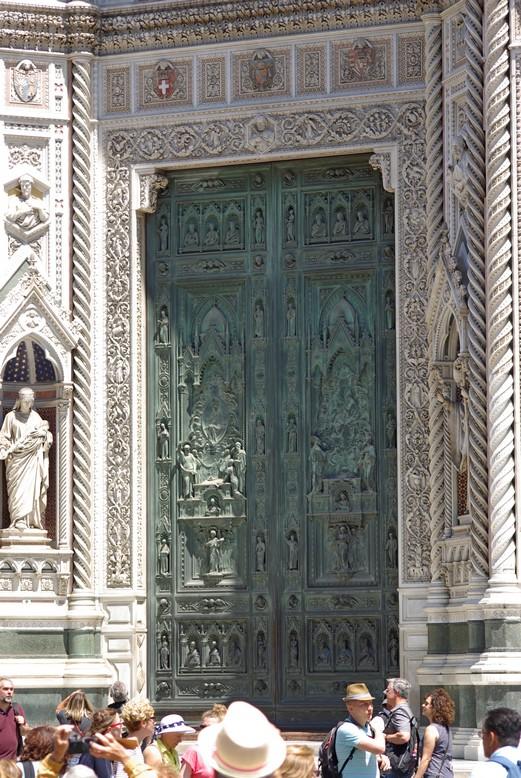 Drzwi wejściowe do katedry, Florencja