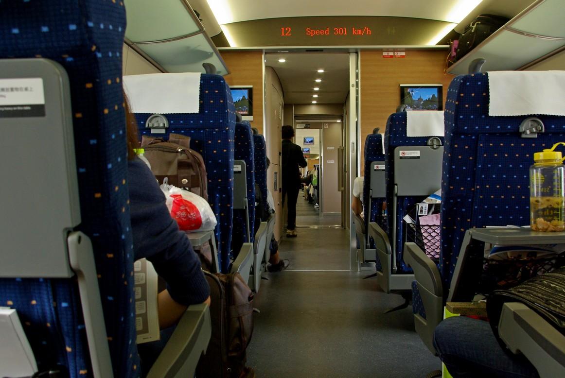 Pociąg CHR, trasa Szanghaj - Pekin