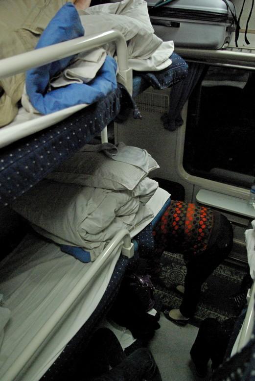 Pociąg soft sleeper, trasa Pekin - Da'Tong